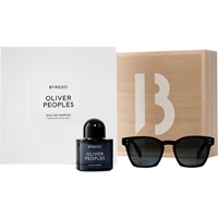 Byredo Oliver Peoples Blue With Sunglasses