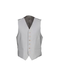 Tiziano Reali Vests Light Grey