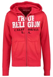 True Religion Tracksuit Top Red