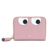 Anya Hindmarch Small Eye Leather Wallet Pink