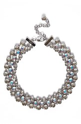 St. John Women's Collection Swarovski Crystal Collar Necklace