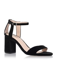 Carvela Kurt Geiger Gigi Strappy Mid Heel Sandals Female Black