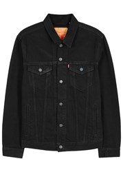 Levi's Trucker Black Denim Jacket