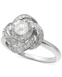 Giani Bernini Cubic Zirconia Love Knot Ring In Sterling Silver Created For Macy's