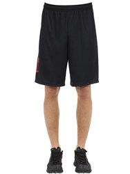 Under Armour Tech Graphic Nylon Shorts Black