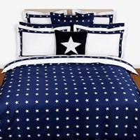 Gant Star Border Duvet Cover Navy Double