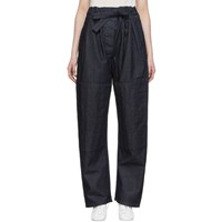 Christophe Lemaire Ssense Exclusive Navy Martial Jeans