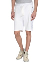 Umit Benan Trousers Bermuda Shorts Men White