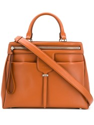 Tod's Joy Tote Bag Brown