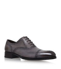 Tom Ford Edgar Toe Cap Oxford Shoes Male Grey