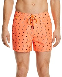 Sundek Lightning Swim Trunks Orange
