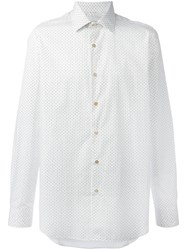 Paul Smith Polka Dot Shirt White