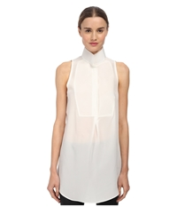 Cnc Costume National Sleeveless Collared Blouse