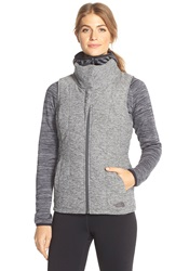 The North Face 'Psuedio' Quilted Vest Asphalt Grey Heather