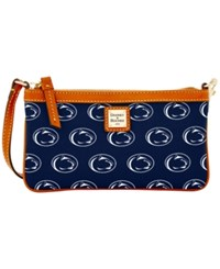 Dooney And Bourke Penn State Nittany Lions Large Slim Wristlet Navy