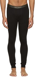 Balmain Black Logo Leggings