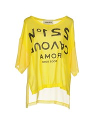 5Preview T Shirts Yellow