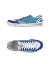 Ice Iceberg Low Tops And Trainers Blue