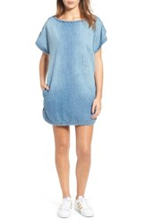 Current Elliott Women's Denim T Shirt Dress