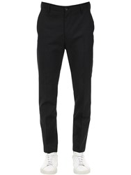 Diesel Cool Wool Blend Chino Pants Black