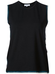 Opening Ceremony Hollow Lateral Tank Top Black