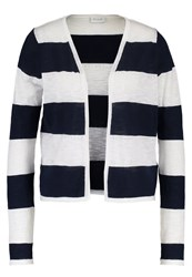 Vila Vistarly Cardigan Cloud Dancer Total Eclipse Off White