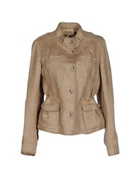 Alviero Martini 1A Classe Suits And Jackets Blazers Women Khaki