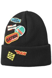 Dsquared2 Wool Hat With Patches