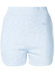 Theatre Products Fitted Sweat Shorts Blue