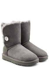Ugg Australia Bailey Bling Boots With Swarovski Crystal Grey