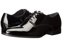 Gordon Rush Manning Black Patent Men's Dress Flat Shoes