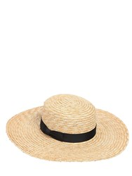 Lack Of Color The Spencer Wide Brimmed Boater Hat