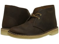 Clarks Desert Boot Beeswax Leather 2 Women's Lace Up Boots Brown