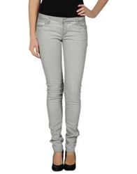 Ring Denim Pants Light Grey