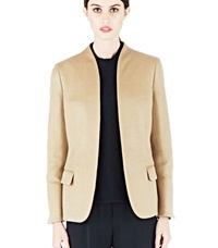 Agnona Unclosed Cashmere Blazer Neutrals