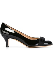 Salvatore Ferragamo 'Carla' Pumps Black