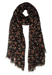 American Vintage Caldwell Scarf Strawberry Carbon Multicoloured