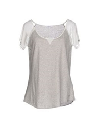 9.2 By Carlo Chionna T Shirts Light Grey