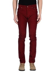 Jeckerson Casual Pants Maroon