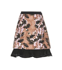 Carven Ruffled Skirt Multicoloured