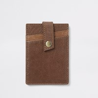 River Island Brown Card Holder