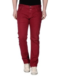Closed Denim Pants Maroon