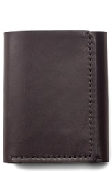 Filson 'S Leather Trifold Leather Wallet