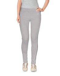 Emporio Armani Ea7 Trousers Leggings Women Light Grey