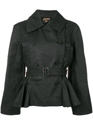 Jean Paul Gaultier Vintage 1990'S Belted Jacket Black