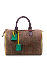 Etro Paisley Tote Bag Brown