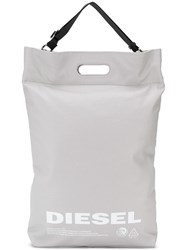 Diesel Light Shopping Bag Grey