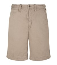 Polo Ralph Lauren Relaxed Fit Rugged Chino Shorts Male Light Brown