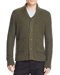 Rag And Bone Shawl Collar Cardigan Army Green