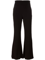 Versace Vintage Flared Trousers Black